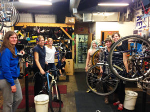 CANCELED - Women, Trans, Non Binary Night @ West Town Bikes