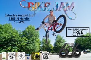606 Bike Jam @ West End of 606 Trail